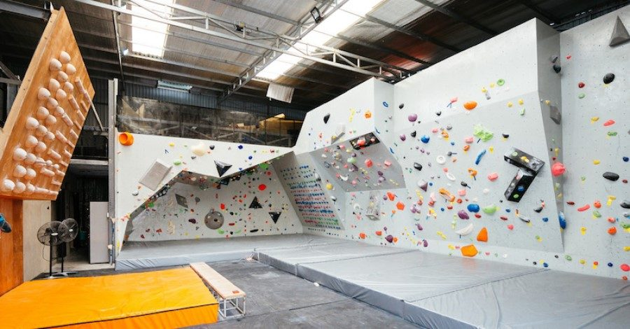 The facility inside of Vertical Academy