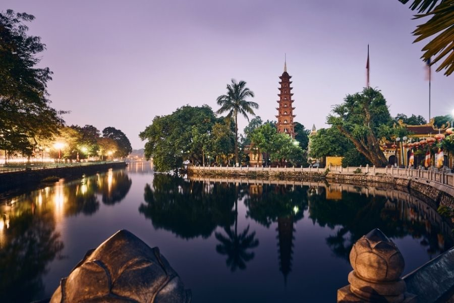 Where to stay in Hanoi Tran Quoc Pagoga