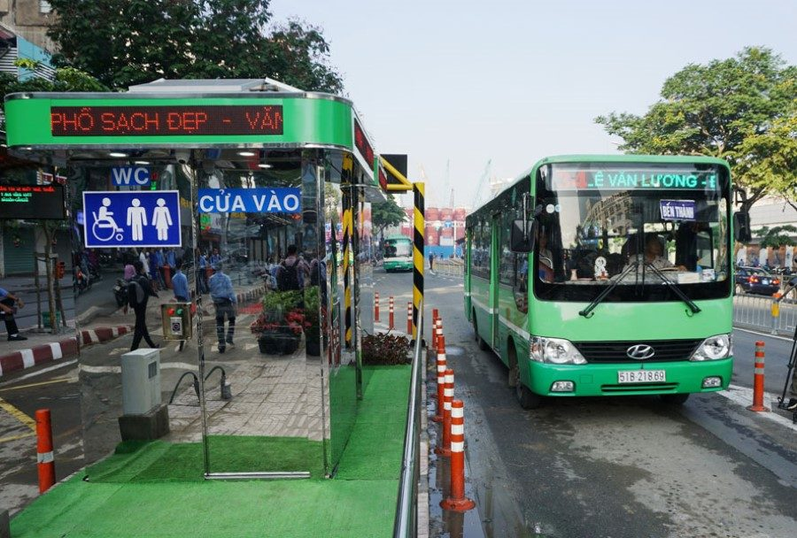Bus in Ho Chi Minh city