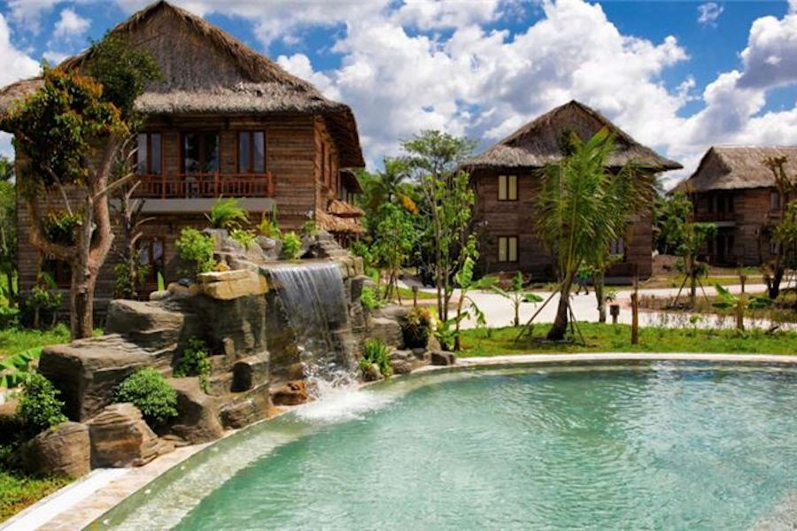 Beautiful view of Can Tho Ecolodge