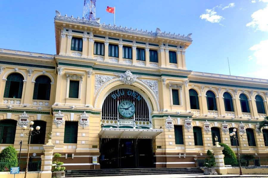 Central Post Office Exterior