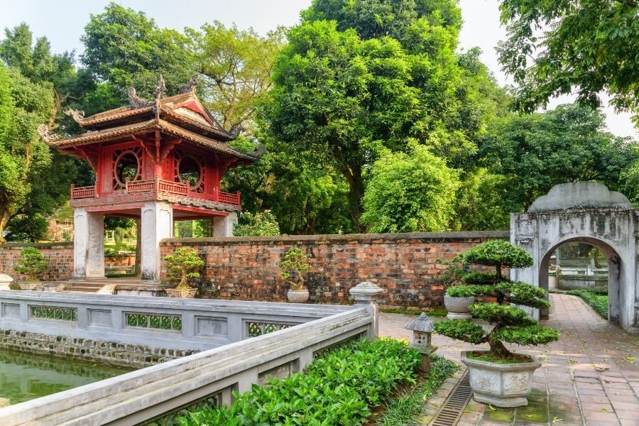 Where to stay in Hanoi The temple of Literature