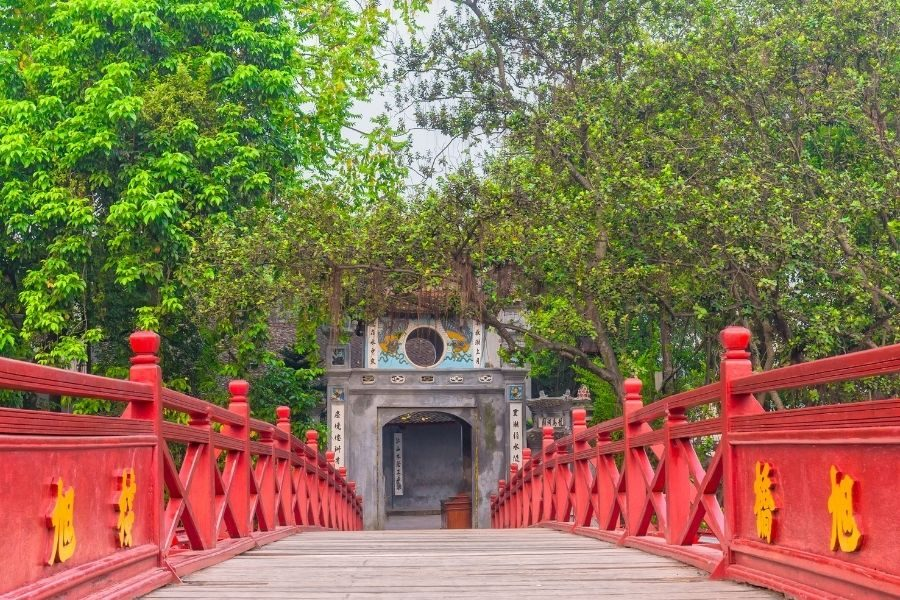 Where to stay in Hanoi Ngoc Son Temple