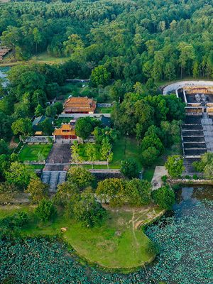 The Imperial Tomb of Emperor Gia Long