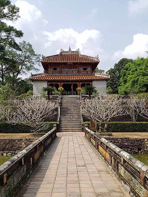 The Imperial Tomb of Minh Mang