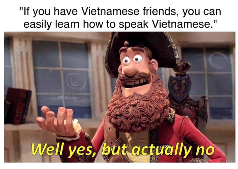 Trying To Learn Vietnamese
