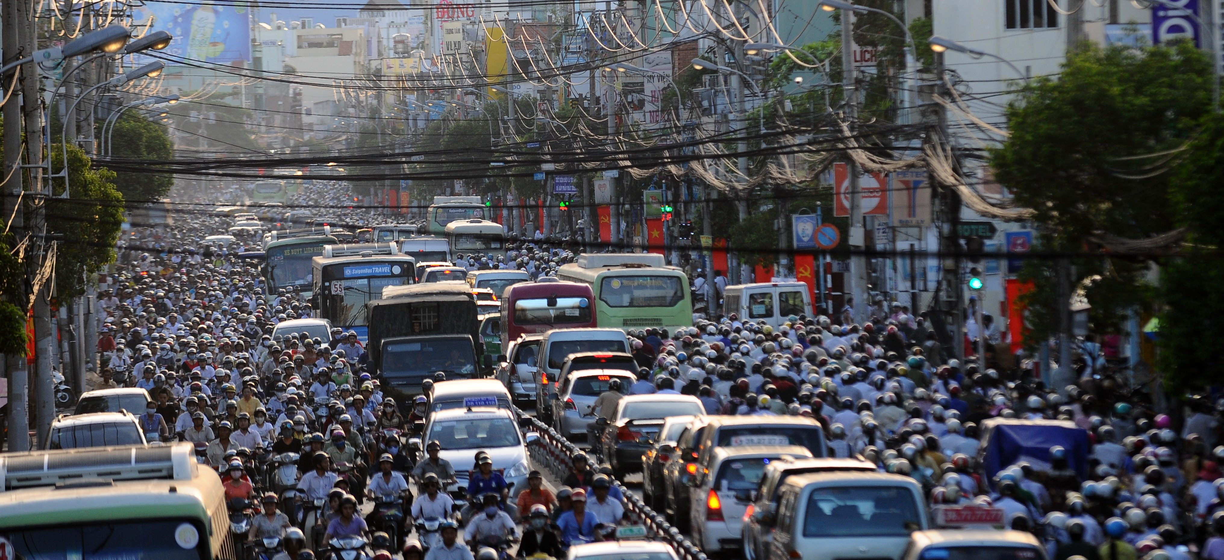 Vietnam ranked the fifteenth most populous nation in the world, with 96 million inhabitants