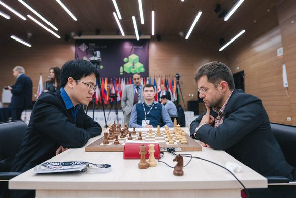 Vietnam's grand master defeated by defending champion