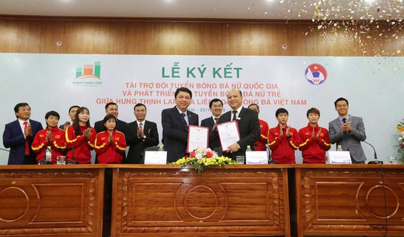 Hung Thinh Land raises $4.3 million to help Vietnam fulfill the vision of the FIFA Women's World Cup