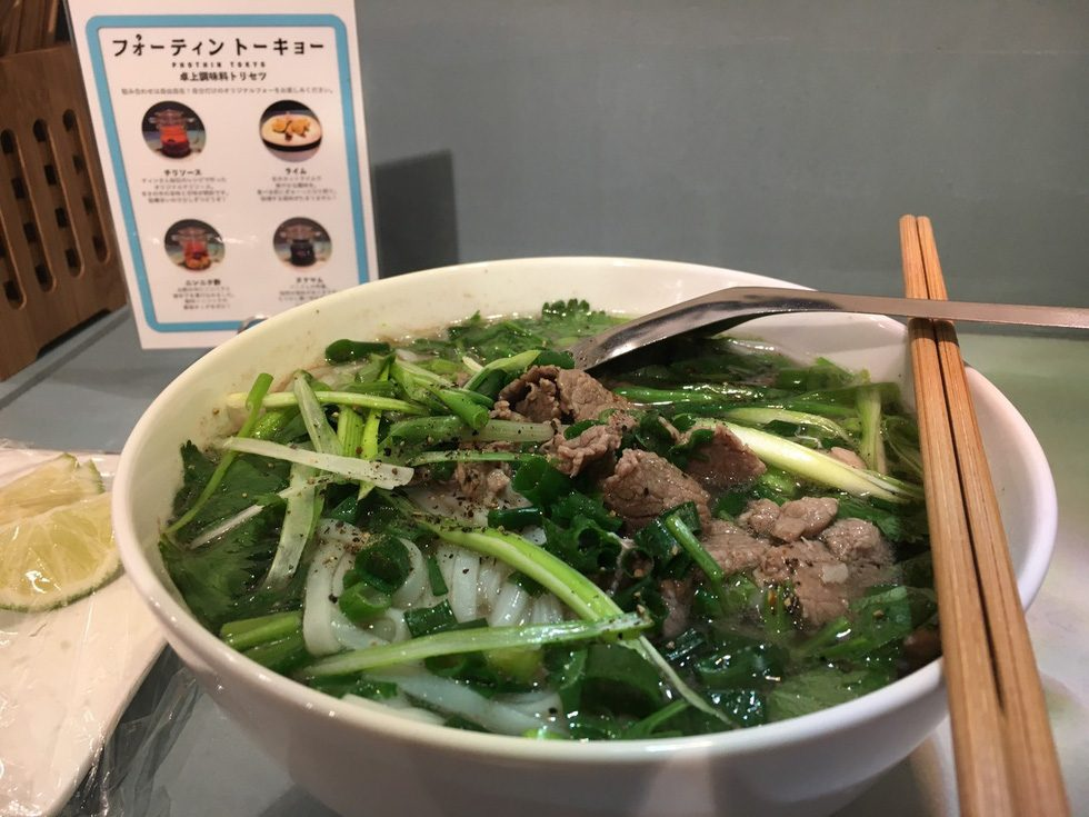Famous Hanoi pho a big hit with Tokyo diners
