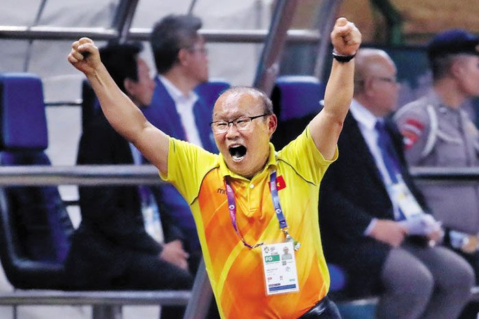 Coach Park dedicates win to players for victory of Indonesia
