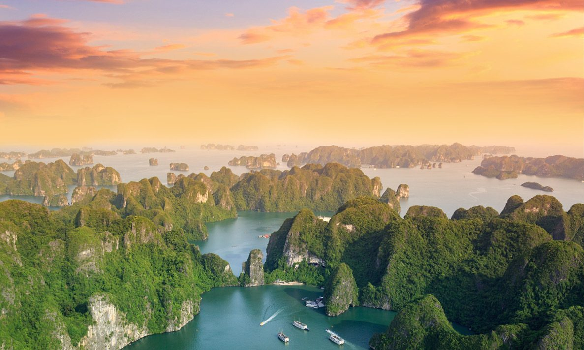 Vietnam is one of the top 10 tourist destinations in Asia-Pacific