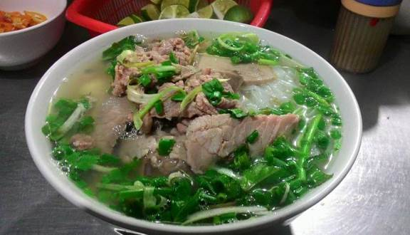 Phở-phosua is no doubt crowned by the Northen chefs