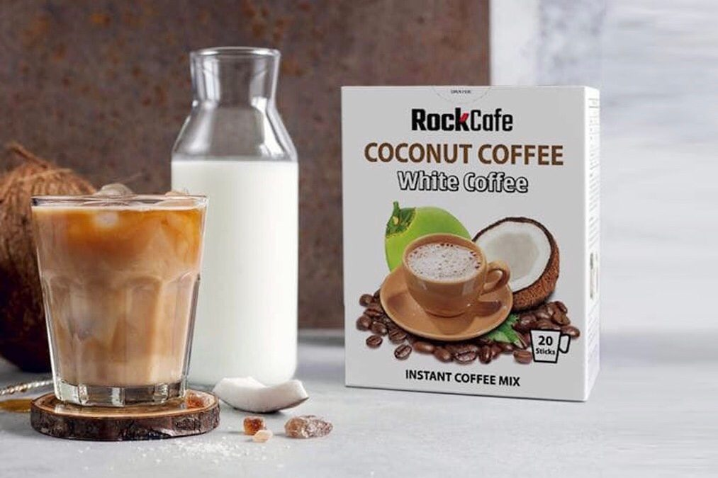 Awake and start your day with this unique White Coconut Coffee