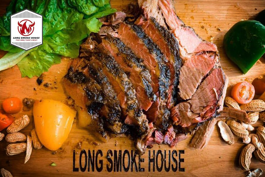 Craving long hour smoke ribs & Brisket? Visit Long's Smoke House!