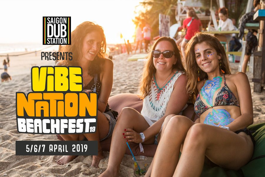 Vibe Nation Beach Fest: All In 3 Night Package for 4