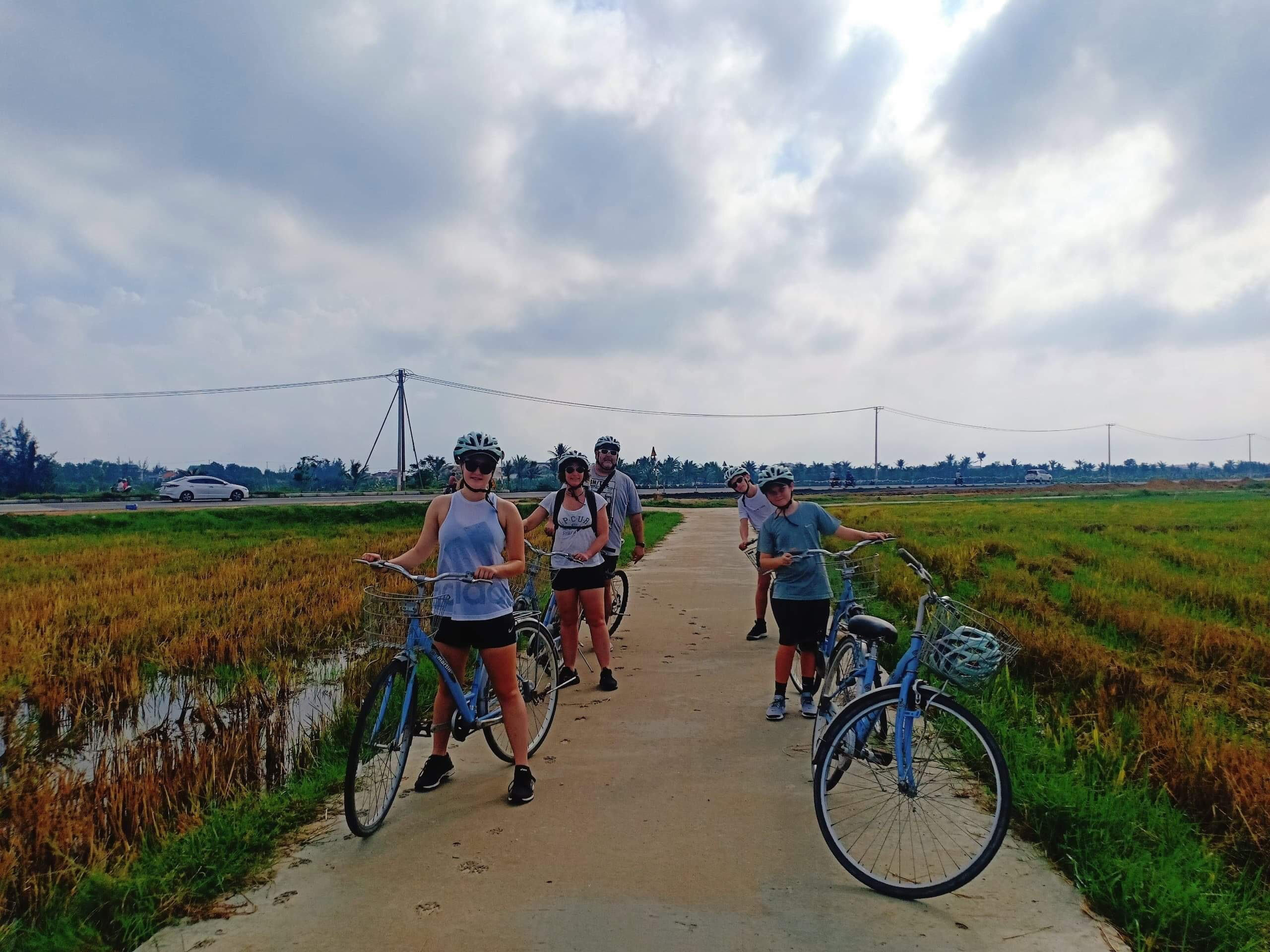 Countryside bike tour