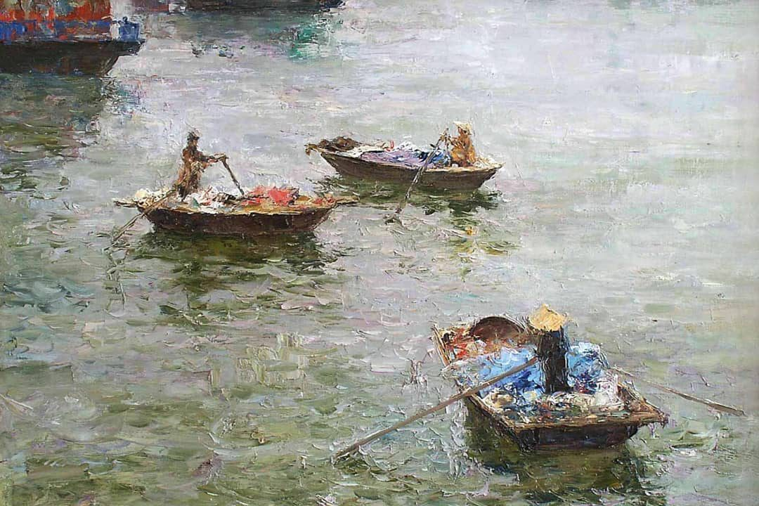In memoriam: Vietnam in the paintings of Tuman Zhumabaev, recently departed Russian painter