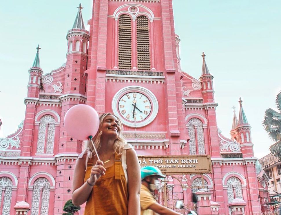 Pink, Pink, Pink! Saigon's Tân Định Church, is Ho Chi Minh City's Very Own Magic Kingdom